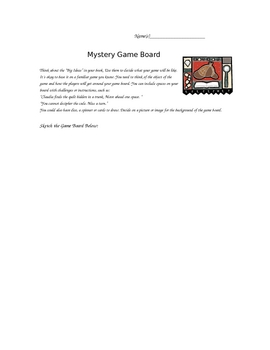 Mystery Game Boards