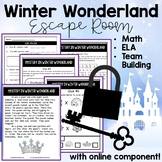 Digital Learning Winter Math Escape Room Math Mystery Read