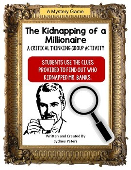 Mystery Game - Kidnapping of a Millionaire - Critical Thin