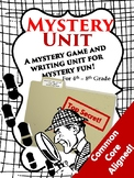 Mystery Game and Creative Writing Activity!