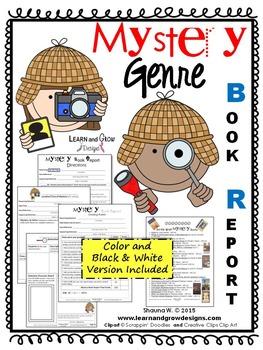 Mystery Genre Book Report