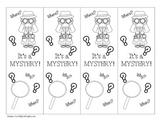 Mystery Genre Bookmark