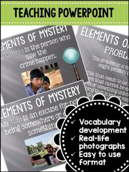 Mystery Genre Complete Teaching Unit - Common Core Aligned Grades 3 - 5