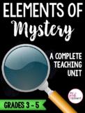 Mystery Unit  Genre Study  Standards Aligned Grades 3-5
