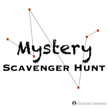 Mystery Genre Scavenger Hunt