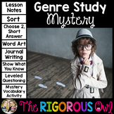 Mystery Genre Study Unit
