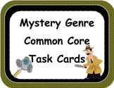Mystery Genre Task Cards and More
