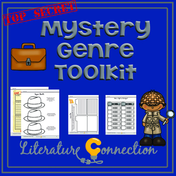 Mystery Genre Toolkit - Use With Any Mystery
