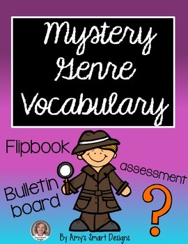 Mystery Genre Vocabulary Pack