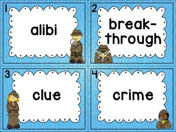 Elements of Mystery Task Cards