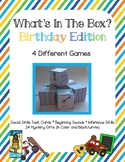 Mystery Gift Game 4 What's in the Box Games Pack Social Sk