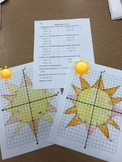 Mystery Graph - Reflecting Points without the Coordinate Grid