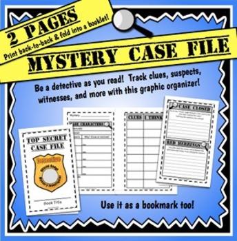 Mystery Graphic Organizer