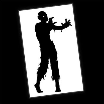 Mystery Grid Six-Pack - Zombie Silhouettes