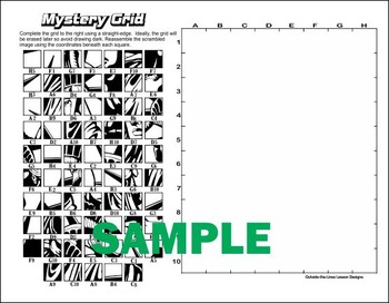 Ultimate Mystery Grid Drawing Collection - 50 pack