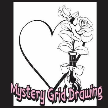 Mystery Grid Drawing Activity - Valentine's Day