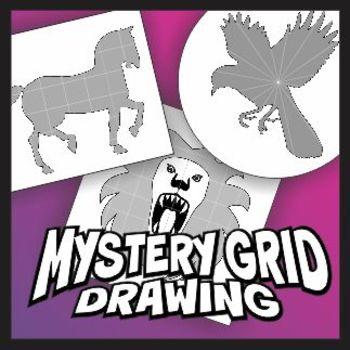 Mystery Grid Drawing Beginner Set