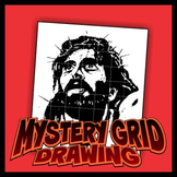 Mystery Grid Drawing - Jesus 2-pack
