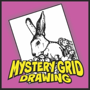 Mystery Grid Drawing - Bunny
