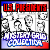 Mystery Grid Drawing Collection - American Presidents