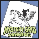 Mystery Grid Drawing - Pegasus Art Project