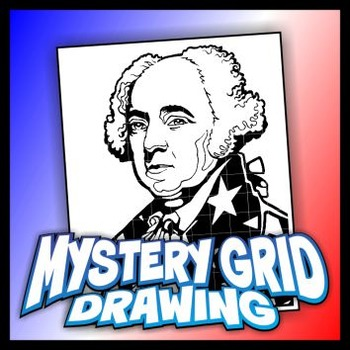 Mystery Grid Drawing President 02 John Adams