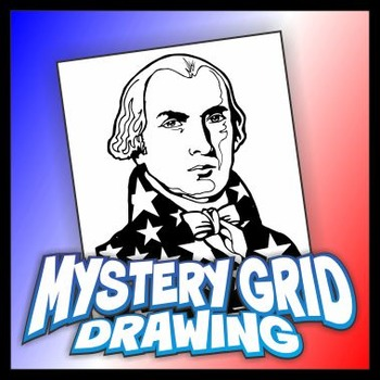 Mystery Grid Drawing President 04 James Madison