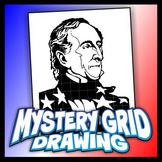 Mystery Grid Drawing President 10 John Tyler