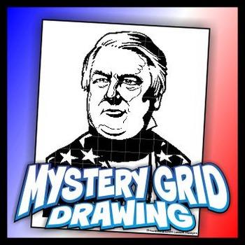Mystery Grid Drawing President 13 Millard Fillmore