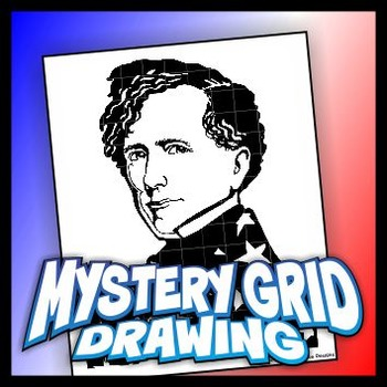 Mystery Grid Drawing President 14 Franklin Pierce