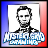 Mystery Grid Drawing President 16 Abraham Lincoln