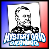 Mystery Grid Drawing President 18 Ulysses S Grant