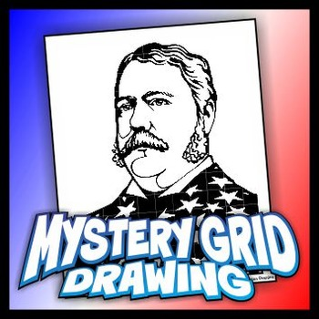 Mystery Grid Drawing President 21 Chester A Arthur