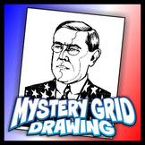 Mystery Grid Drawing President 28 Woodrow Wilson