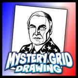 Mystery Grid Drawing President 29 Warren G Harding