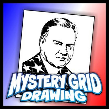 Mystery Grid Drawing President 31 Herbert Hoover