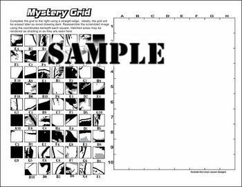 Mystery Grid Drawing - Ronald Reagan