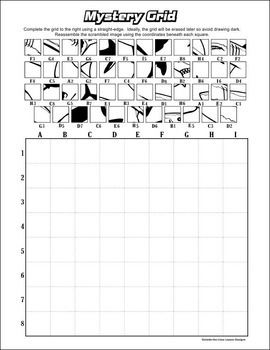 mystery grid art worksheets - Google Search | grids | Pinterest ...
