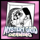 Mystery Grid Drawing - Weeping Woman - Pablo Picasso