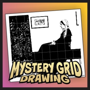 Mystery Grid Drawing - Whistler's Mother