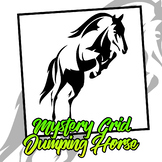 Mystery Grid - Jumping Horse