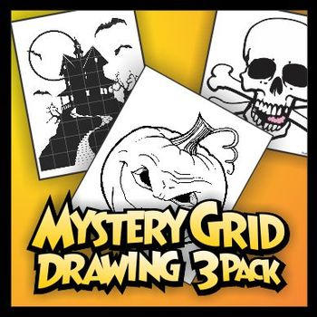 Mystery Grid Three-Pack 02 Halloween