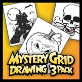Mystery Grid Three-Pack 02 Halloween