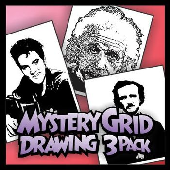 Mystery Grid Three-Pack 05 Famous Personalities