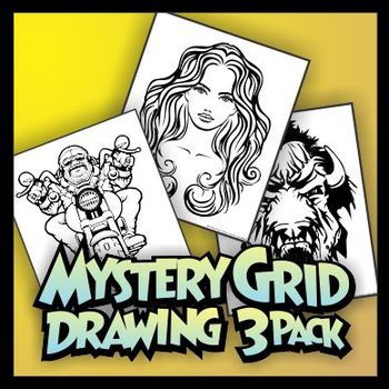 Mystery Grid Three-Pack 08 Mirror Grids