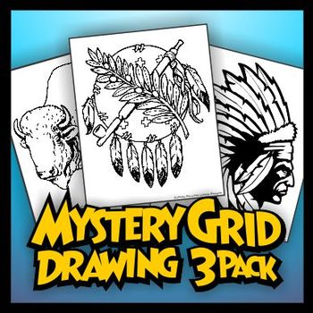 Mystery Grid Three-Pack 09 Native America