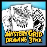 Mystery Grid Three-Pack 09 Native America