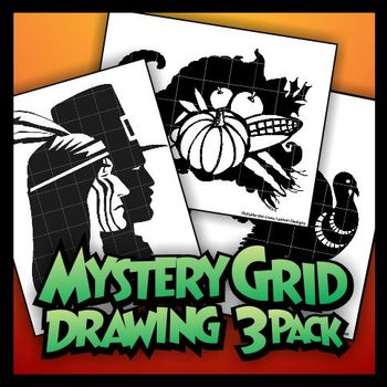 Mystery Grid Three-Pack 11 - Thanksgiving