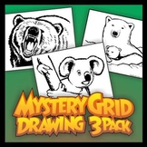 Mystery Grid Three-Pack 13 - More Wild Animals