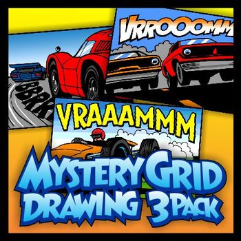 Mystery Grid Three-Pack 15 - Hot Rods